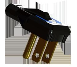 Flat Plug Power Cords